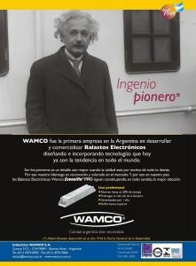 """ESPÍRITU PIONERO, ALBERT EINSTEIN"" Balastos Electrónicos Wamco, 2006"