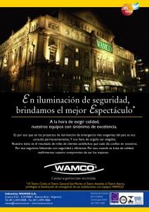 """""""BRINDAMOS EL MEJOR ESPECTÁCULO""""Equipos de Emergencia Wamco, 2006"""