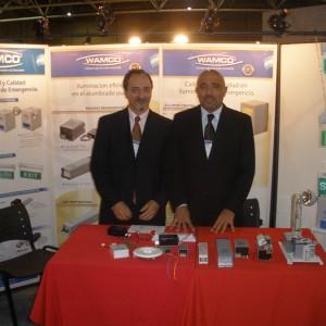 """""""CONEXPO CUYO, SAN LUIS 2010"""" Participación comercial y dictado de conferencia técnica"""