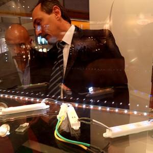 """""""BIEL LIGHT & BUILDING, 2011"""" Participación como expositor en el pabellón de Iluminación"""