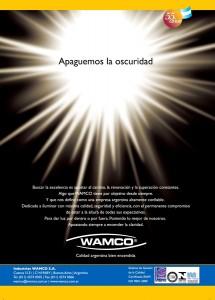 """""""APAGUEMOS LA OSCURIDAD"""" Campaña Institucional 2004-2005"""