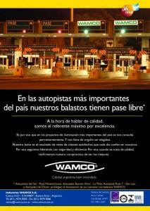 """""""PASE LIBRE"""" Balastos Wamco, 2006"""