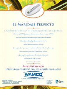 """Maridaje Perfecto"" Econolite Pro, 2013 - 2014"