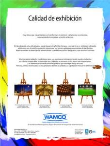 """""""Calidad de Exhibición"""" 2016"""